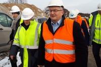 Minister Adamczyk wizytował budowę POW