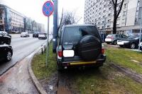 Jesteśmy przeciw nieprawidłowemu parkowaniu