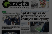 """Znak nielegalny sąd jednak skazuje - donosi """"Gazeta Wrocławska"""""""