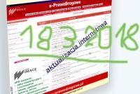 ePD aktualizacja wg stanu prawnego na 18.3.2018