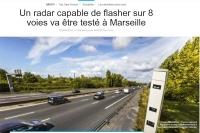 Fotoradar wieżowy jednorazowo nagra 32 pojazdy