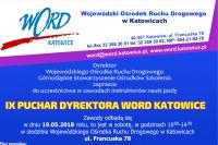 Zaproszenie do zawodów o puchar Dyrektora WORD Katowice