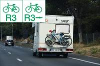 Rowerzyści na międzynarodowych szlakach rowerowych nieco inaczej
