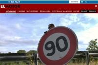 Wolniej także na drogach Hiszpanii