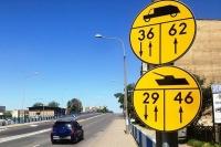 Znaki drogowe dla wojska
