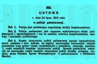 100 lat naszej Policji!