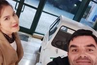 O technice jazdy w warunkach zimowych mówi Sara Kurlit i Rafał Krzyszowski