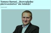 Tomasz Barnaś. Szczególna ostrożność pieszych - eksplikacja