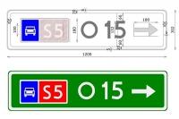 Eksperymentalne oznakowanie dróg