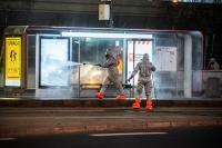 Wokół dezynfekcji przystanków i chodników