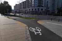 Drogi rowerowe bez wyznaczonych przejść dla pieszych!?