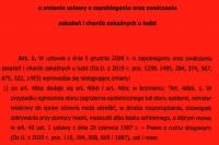 Ustawa przeciwko łamaniu covidowych zakazów