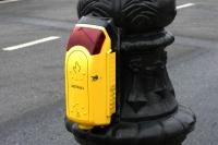 Przyciski na przejściach dla pieszych