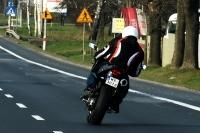 Jesienny motocyklista