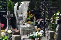 Ostrożnie w pobliżu cmentarzy!