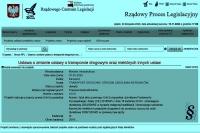 Jakub Zbucki. Projektowane zmiany w ustawie o transporcie drogowym (UC18). Część 1