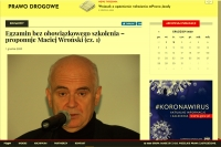 Egzamin bez obowiązkowego szkolenia – proponuje Maciej Wroński (cz. 2)