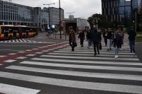 Statystyka wypadków na przejściach dla pieszych