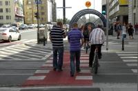 Panie Ministrze! Pominięto szczególną ostrożność przy przechodzeniu przez drogę dla rowerów!