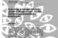 OBWE o projekcie tzw. ustawy mandatowej