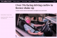 Kierowca po osiągnięciu 70-roku życia odnawia prawo jazdy